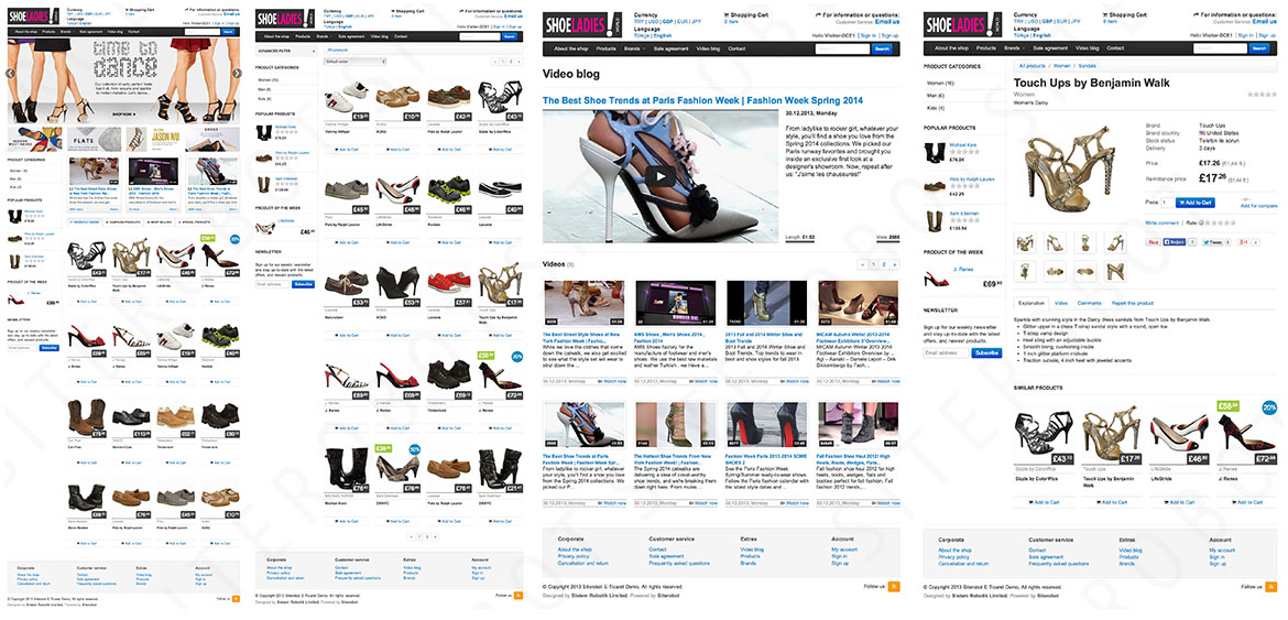 Siterobot E-Commerce